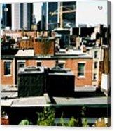 Boston Roof Tops Acrylic Print