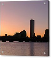 Boston Skyline Acrylic Print by Juergen Roth
