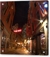 Boston Street Acrylic Print