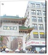 Boston's Chinatown  Acrylic Print