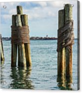 Boston's Harbor Acrylic Print