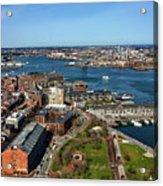 Boston's North End Acrylic Print
