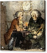 Boswell And Johnson, 1786 Acrylic Print
