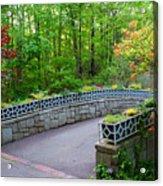 Botanical Bridge Acrylic Print