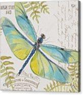 Botanical Dragonfly-jp3423b Acrylic Print
