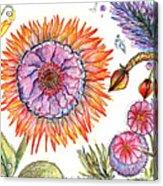 Botanical Flower-50 Acrylic Print