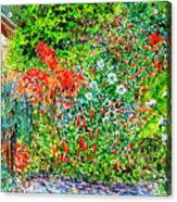 Botanical Garden Acrylic Print