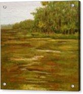 Botany Bay Plantation Marsh Acrylic Print