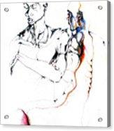 Both Faces Acrylic Print