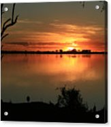 Botswanna Sunset Acrylic Print