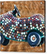 Bottle Cap Buggy Acrylic Print