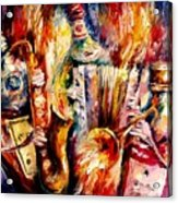 Bottle Jazz Acrylic Print