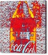 Bottle Of Coca-cola Acrylic Print
