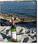 Bottled Beach Acrylic Print