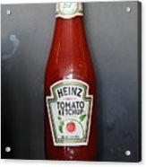 Bottled Ketchup - 5d18039 Acrylic Print