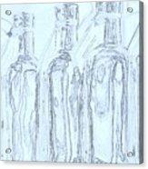 Bottles 2 Acrylic Print