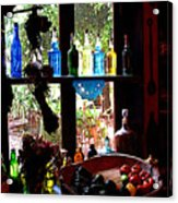 Bottles And Shadows Acrylic Print