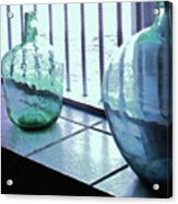 Bottles Still Life Acrylic Print