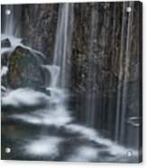 Bottom Of A Waterfall #3 Acrylic Print