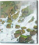 Bottom Of American Niagara Falls Acrylic Print