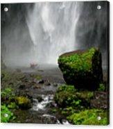 Bottom Of Wakeena Falls Acrylic Print
