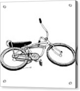 Bottom Up Bike Acrylic Print by Karl Addison