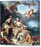 Boucher: Abduction/europa Acrylic Print