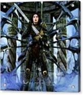 Boudica Acrylic Print by Gabor Gabriel Magyar - Forgottenangel
