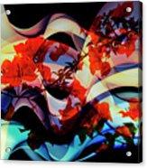Bougainvillea At Joe's Secret Garden IIi Acrylic Print