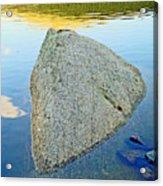 Boulder At Echo Lake Acrylic Print