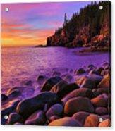 Boulder Beach Sunrise Acrylic Print