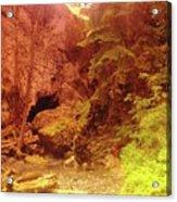 Boulder Cave  Acrylic Print