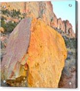 Boulder Color  Acrylic Print