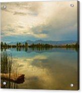 Boulder County Colorado Calm Before The Storm Acrylic Print