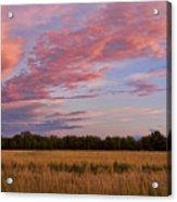 Boulder County Colorado Country Sunset Acrylic Print