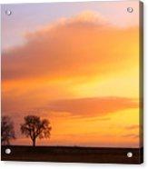 Boulder County Sunrise Acrylic Print