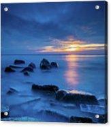 Boulder Point Sunrise Acrylic Print
