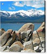 Boulder Shore Lake Tahoe Acrylic Print
