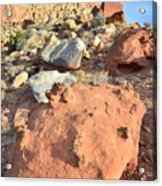 Boulders Above Camprground Acrylic Print