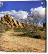 Boulders At Apple Valley Acrylic Print
