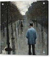 Boulevard Des Batignolles Acrylic Print