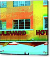 Boulevard Acrylic Print