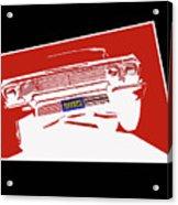 Bounce. '63 Impala Lowrider. Acrylic Print