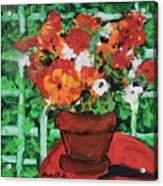 Bouquet A Day Floral Painting Original 59.00 By Elaine Elliott Acrylic Print
