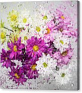 Bouquet Boom Acrylic Print