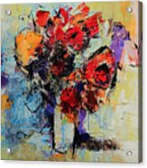 Bouquet De Couleurs Acrylic Print