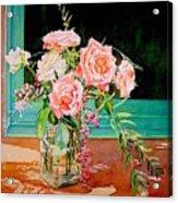Bouquet De Roses - Marrakech Acrylic Print