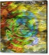Bouquet Downstream Acrylic Print