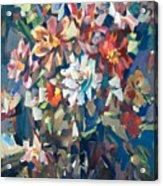 Bouquet Near The Window Acrylic Print