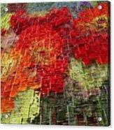 Bouquet Of Colors Acrylic Print